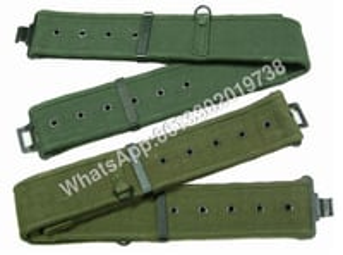 Military PP Nylon Cotton Poly Webbing Belt