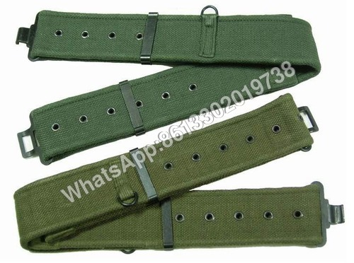 Military PP Nylon Cotton Poly Webbing Belt