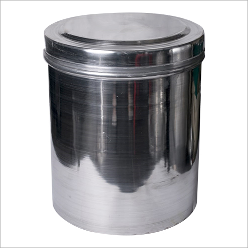 Aluminium storage container  (polish Dabba)
