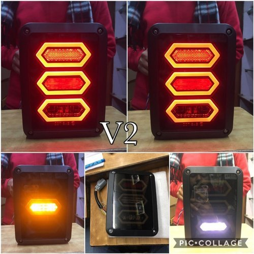 Mahindra thar tail light