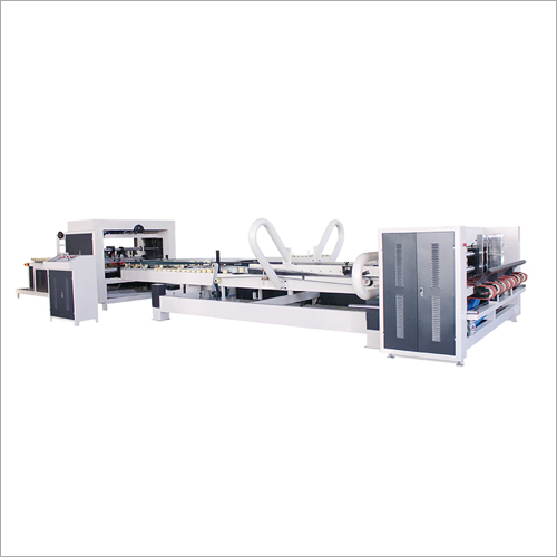 Automatic Corrugated Cardboard Box Gluing Machine