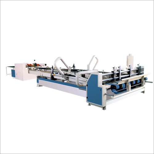 Corrugated Carton Box Automatic Gluer Machine