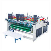 Semi Auto Press Type Box Gluer Machine