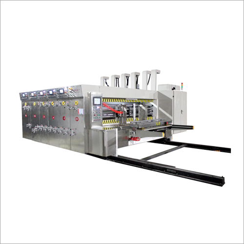 Automatic Corrugated Box Printer Slotter Die Cutter