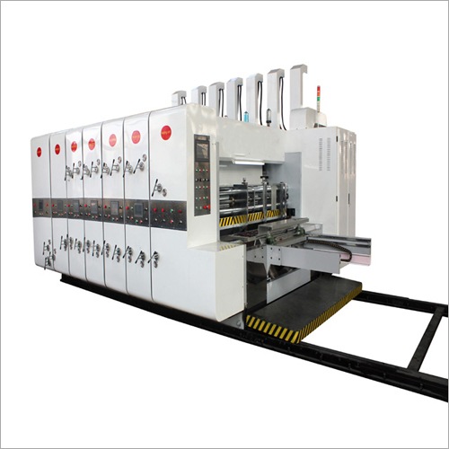 Fruit Carton Box Making Printing Machine