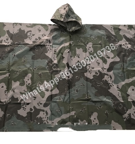 Military Polyester Oxford Nylon Poncho