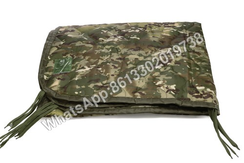 Military Camouflage Poly Oxford Nylon Poncho Liner