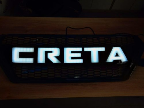 New Creta Car Grill With Light