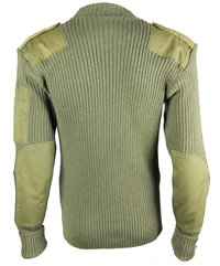 Army Green Military Sweater