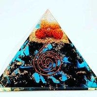 Agates Orgone Pyramid Rudraksh