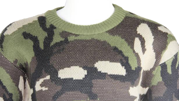 Army Wool Camouflage Jersey