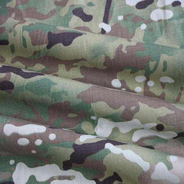 Military Camouflage Ripstop TC CVC Fabric