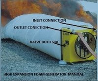 High Expansion Foam Generator ceiling