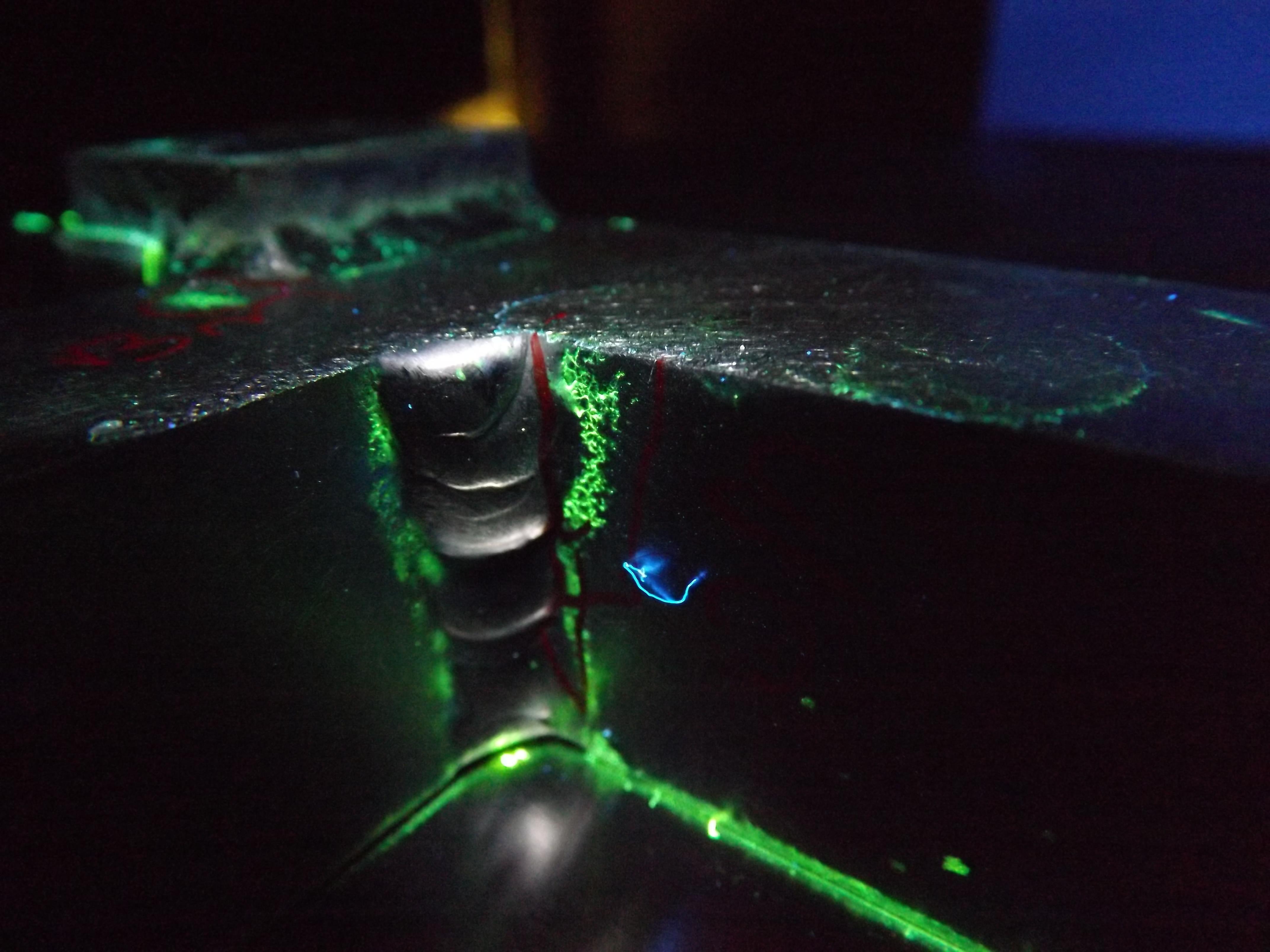 ASNT Level II in Liquid Penetrant Testing
