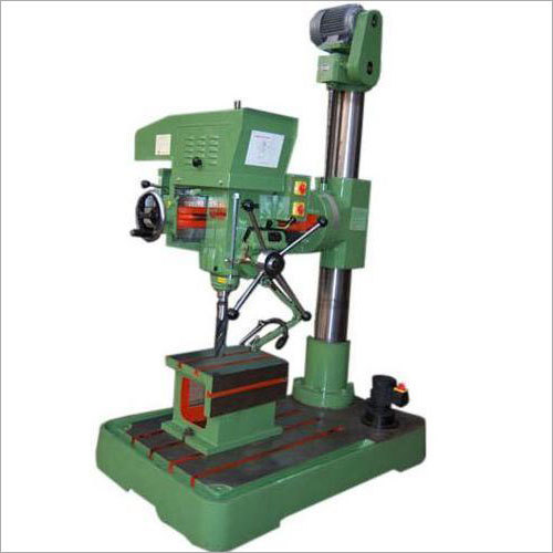Pillar Radial Drill Machine