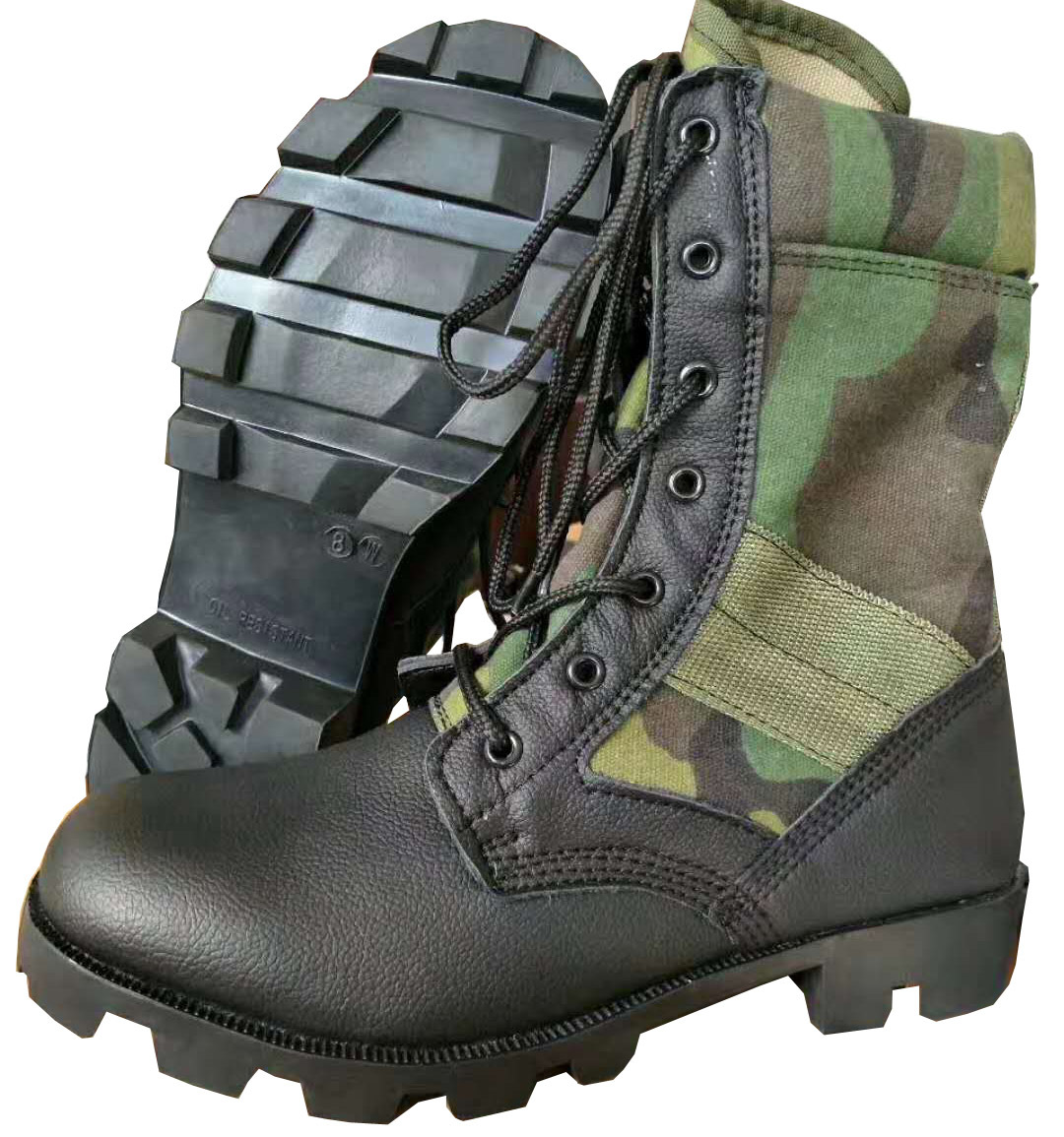 Military Jungle DMS Boot