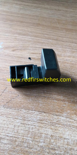 closing lever for rotor spinning machine spare parts in yellow/black colors