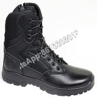 Military Pu Rubber Dual Density Sole Tactical Combat Boot