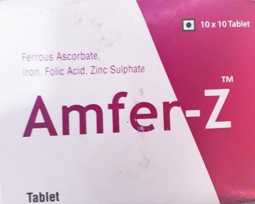 Iron With Folic Acid Tablet