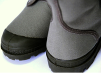 French Army Style Military Canvas Boot
