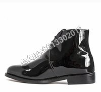 High Rank Army and Police Officer Shining Boot