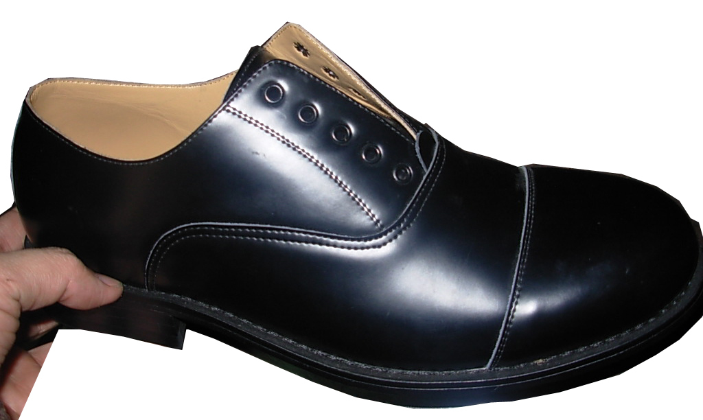 Army and Police Officer Leather Shoes