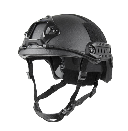 NIJ IIIA Police Bulletproof UHMWPE FAST Helmet