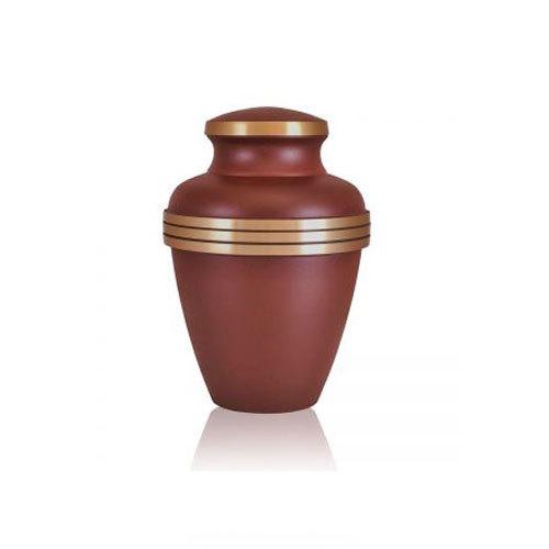 Brass Urn Master Rustic Brown