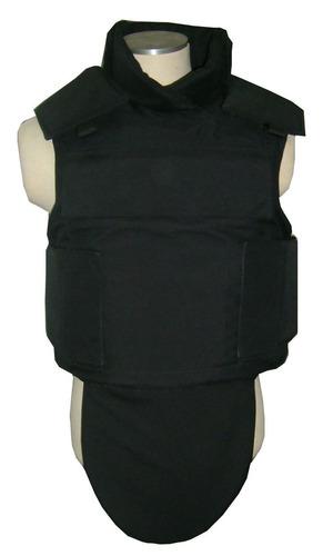 NIJ IIIA Black Aramid Bulletproof Vest