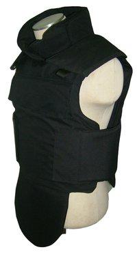 NIJ IIIA Black PE Aramid Bulletproof Vest with Ballistic Helmet Resist 9mm .44MAG 357mag