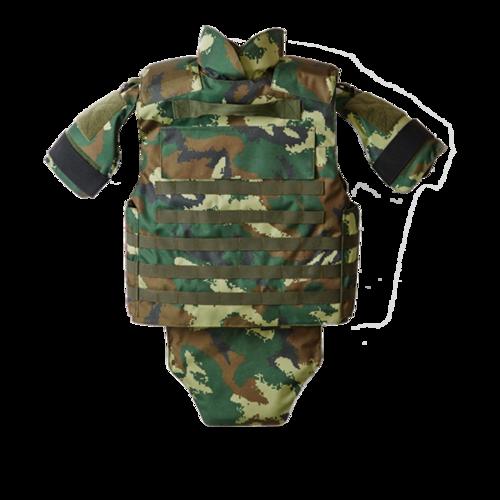 Woodland Camouflage Nij Iiia Ballistic Vest