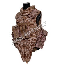 NIJ IIIA Digital Desert Camouflage Full Protection Bulletproof Jacket