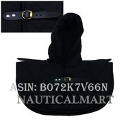 NAUTICALMART Renaissance Medieval Cotton Padded Armor Collar and Coif Arming Cap - Black