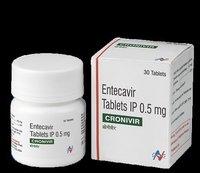 Entecavir Tablet IP 0.5mg