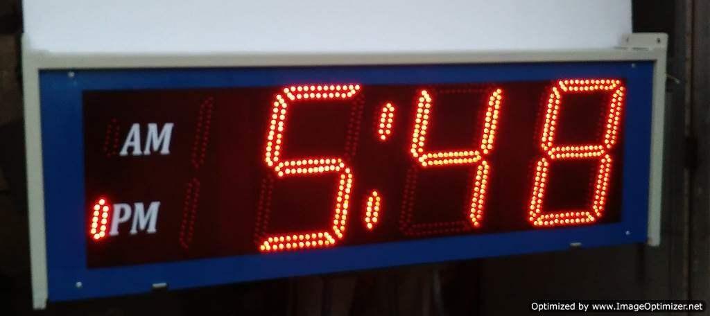 GPS Clock 12 inch