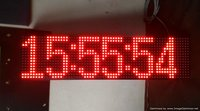 GPS Clock 6 inch