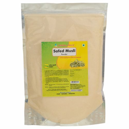 Ayurvedic Safed Musli Powder 1kg for Strength & Stamina Booster