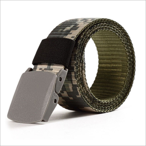 Mens Nylon Printed Belt