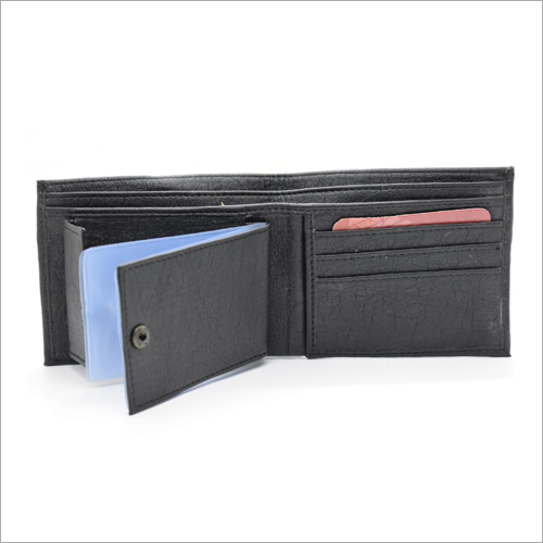 Mens 3 Slotted Leather Wallet