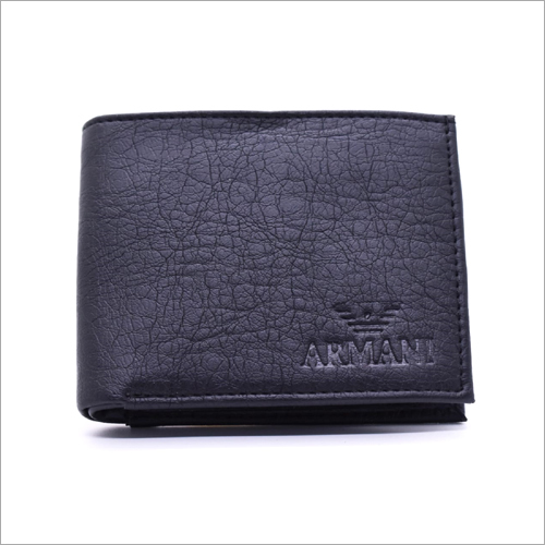 Mens Black Designer Wallet