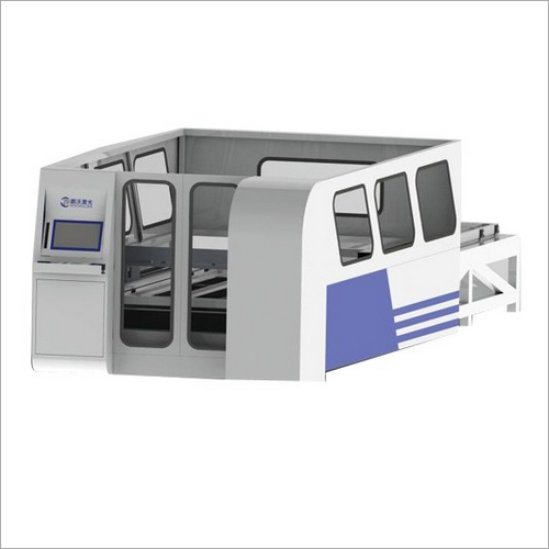 Automatic Loading Fiber Laser Cutting Machine