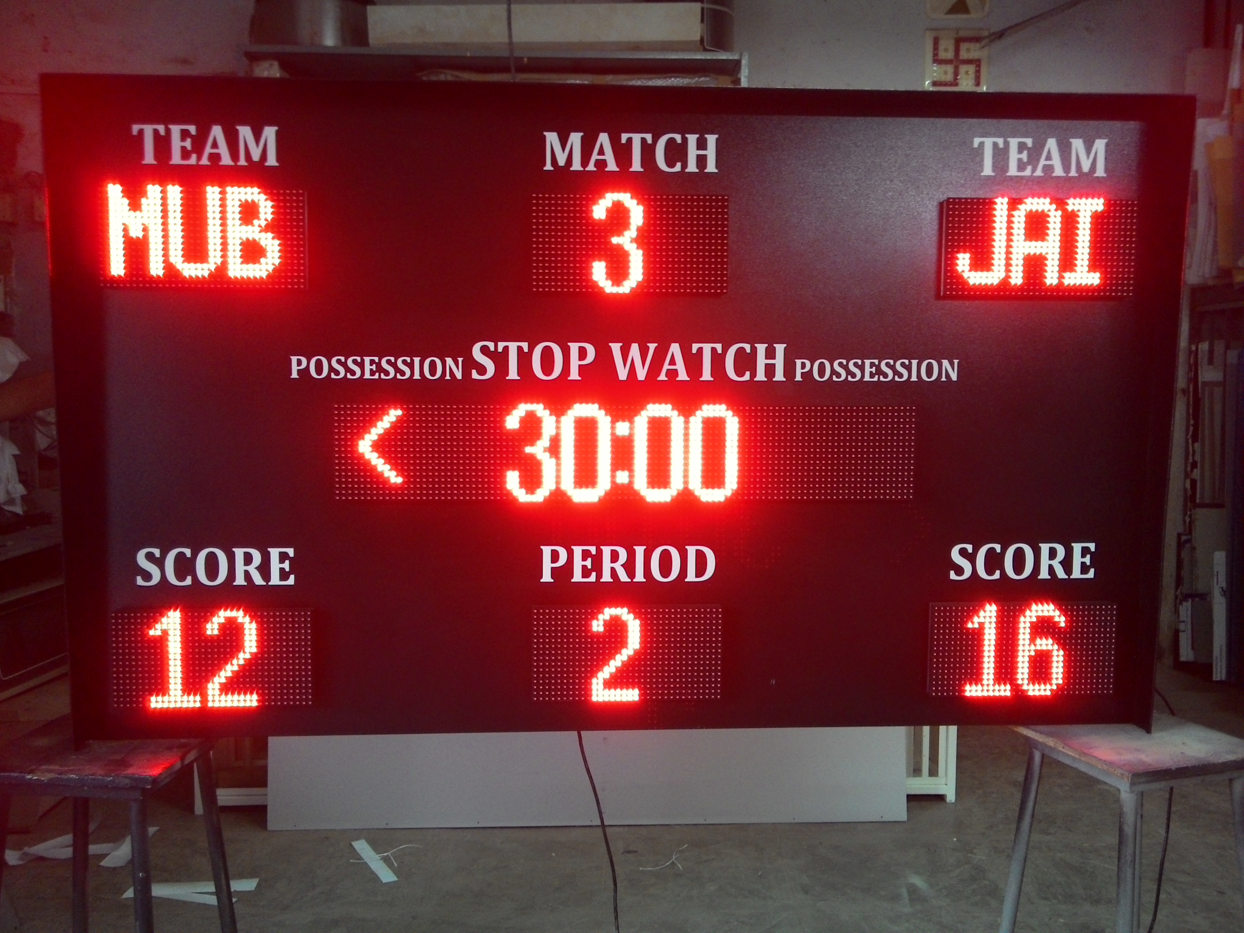 Multi sports score board