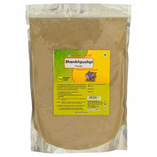Ayurvedic Shankhpushpi Powder 1kg for Memory Support