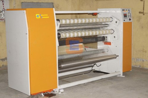 Cello Tape Slitting Machine