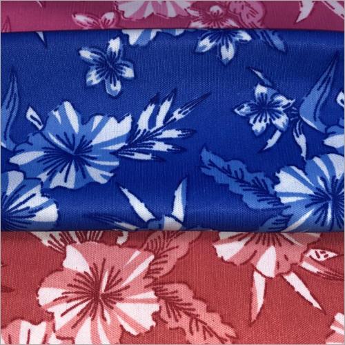 Ladies Nighty Printed Polyster Fabric