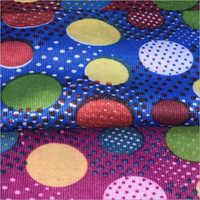 Ladies NIghty PV Printed Fabric
