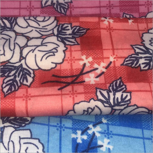 Ladies  Pigment Printed Fabric