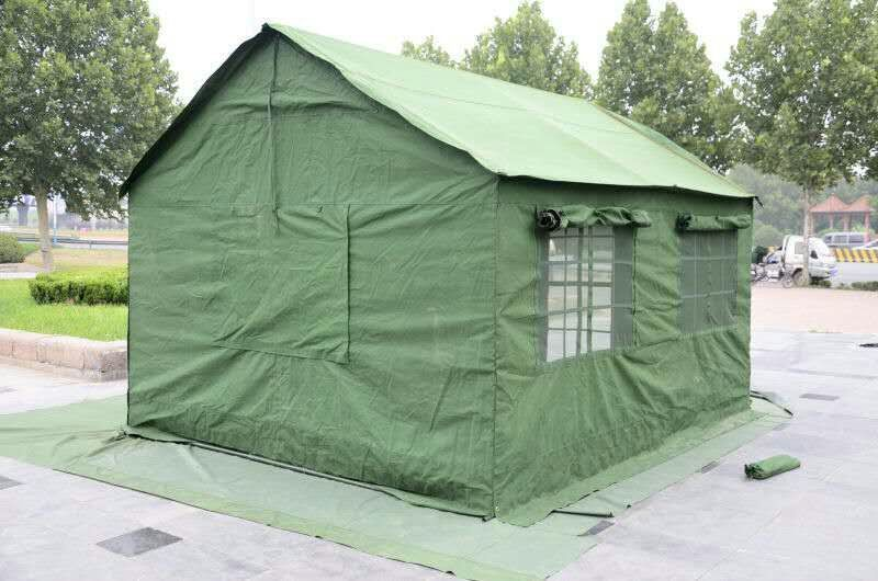 Ghana Army Olive Green Waterproof Military Canvas Tent