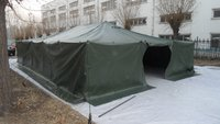 Kuwait Army Used PVC Commander Tent