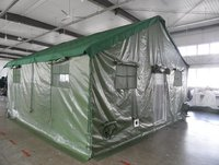 Nepal Army Frame Structure PVC Refugee Tent